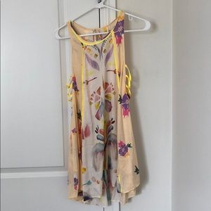 Free People Colorful Tank